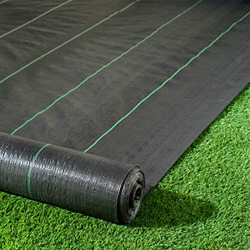 Pro-Tec 3m x 10m Heavy Duty 100g Weed Control Membrane Ground Cover Landscape Fabric