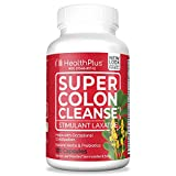 Health Plus Super Colon Cleanse Laxative, 500 Mg, 30 Doses, 120 Capsules