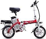 Bicicletas Eléctricas, Bicicletas eléctricas rápidas for adultos portátil plegable bicicleta eléctrica for adultos con extraíble 48V de iones de litio Potente motor sin escobillas de velocidad de 20-3
