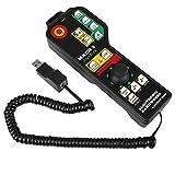Controlador CNC USB, máquina de grabado CNC Controlador manual Conector USB Control de 6 ejes, controlador de volante para sistema Mach3