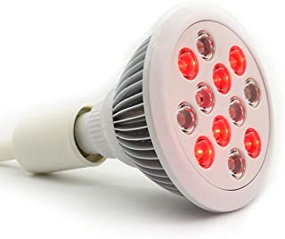 36w Led Red Light Therapy Bulbs/Near Infrared Therapy/Muscle & Joint Pain Relief & Recovery/Skin Rejuvenation/Medically Approved/Health Product/Skin Care/Hair Growth …