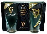 McLaughlin's Irish Shop Neues 2019 Guinness Bierglas Set mit Griffmulde mit Geschenkverpackung
