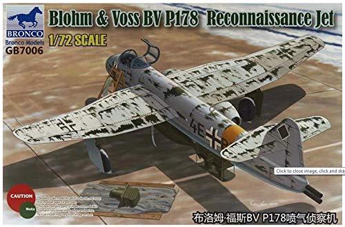 Bronco Models GB7006 Kit de modélisme Blohm et Voss BV P.178 Reconnaissance Jet
