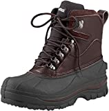 Venturer Cold Weather 8' Hiking Boot, Brown - Size 11