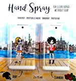 Hand Spray - Saubere Hände ohne Seife - Beeren und Cranberry Geruch 2 x 15 ml