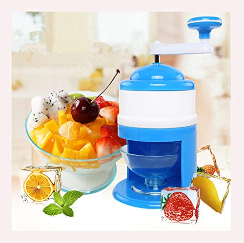 Lowest Price! STARAYS Ice Crusher, Portable Mini Manual Ice Crusher Snow Cone Machine, DIY Ice Cream...