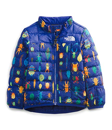 The North Face Infant ThermoBall Eco Jacket, Bolt Blue Critter Crawl Print, 12M