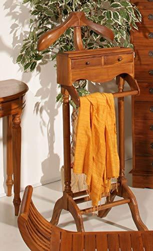 MACABANE Valet de Chambre, Teck, 44 x 46 x 122 cm