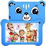 Tablet for Kids 7 inch Kids Tablet, 2GB RAM 16GB ROM, Android 9.0 Tablet, Parent Control, IPS HD Display, Kid-Proof, WiFi, Google Certified Playstore, Android Tablet