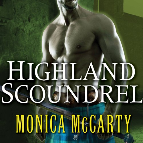 Highland Scoundrel audiobook cover art
