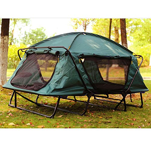 Xljh Outdoor mosquito net, tent sheet, man fishing equipment, two-man field trip, camping fishing car roof, off-ground tent