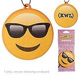 Deodorante per Auto Emoticon Emoji Occhiali da sole PESCA