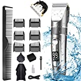 Best Hair Clippers For Fades - POLENTAT Hair Clippers for Men Rechargeable Hair Trimmer Review