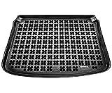 Rezaw-Plast Protector Maletero Goma Compatible con Peugeot 308 I Hatchback (2007-2013) + Regalo | Alfombrilla Maletero Coche Accesorios | Ideal para Perro Mascotas