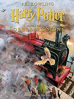 Harry Potter and the Sorcerer's Stone: Illustrated [Kindle in Motion]: The Illustrated Edition (Illustrated Harry Potter Book 1) by [J.K. Rowling, Jim Kay]