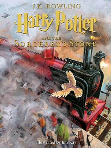 Harry Potter and the Sorcerer's Stone: Illustrated [Kindle in Motion] (Illustrated Harry Potter Book