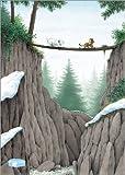 Poster 60 x 80 cm: Der kleine Eisbär, die Mutprobe -