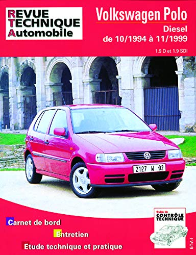 E.T.A.I - Revue Technique Automobile 611 - VOLKSWAGEN POLO III - 6N - 1994 à 1999