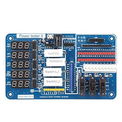 Probador de placa de alimentación, TV LCD Prueba de placa de alimentación Herramientas de mantenimiento Suministro de herramientas especiales con pantalla digital, para iluminación de fondo de interru