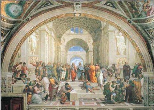 2801N24007   Puzzle de 1000 Piezas del Cuadro  La Escuela de Atenas  de Raffaello