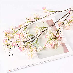 Silk Flower Arrangements TRRT Fake Plants Snowball Flower Artificial Silk Flower, Fake Flower Living Room Wedding Flowers Home Decoration Fake Flower (Color : Pink)