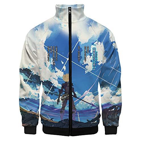 Infinite Dendrogram Pullover Slim Shop Thick Warm Sky Sweatshirt Men Lightweight Outwear...