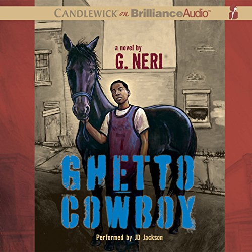Ghetto Cowboy audiobook cover art