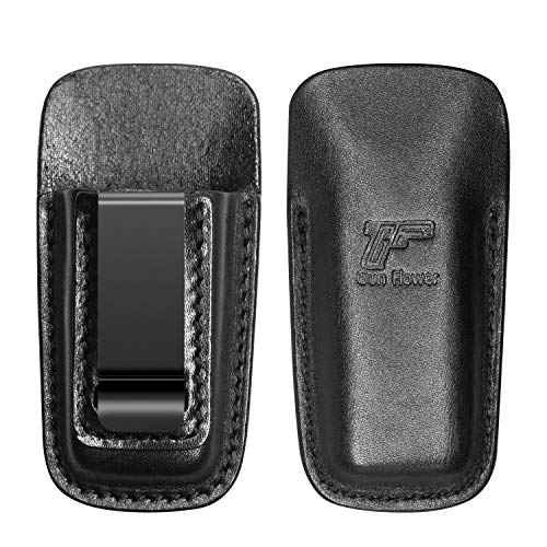 Universal double Mag pouch, Leather Double Magazine Pouch Mag Holster Fit Virtually Any 9mm.40 Caliber Pistol Mag Glock Magazine Holder for S&W Springfield Ruger Sig Beretta Taurus Walther CZ H&K