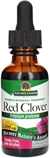 Nature's Answer Red Clover Flowering Tops, 1-Fluid Ounces | Natural Mood Support | Hormone Balance for Women | Menopausal ...