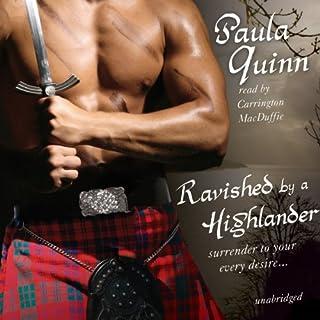 Ravished by a Highlander audiobook cover art