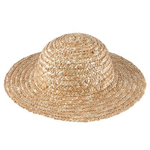 Healifty diy sombrero de paja niño sombrero de paja verano sombrero de paja playa sol sombrero arte pintura sombrero para niños guardería guardería (diámetro 16 cm)