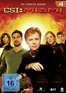 CSI: Miami - Season 4 [Alemania] [DVD]