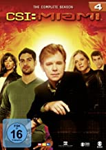 CSI: Miami - Season 4 [Alemania] [DVD]