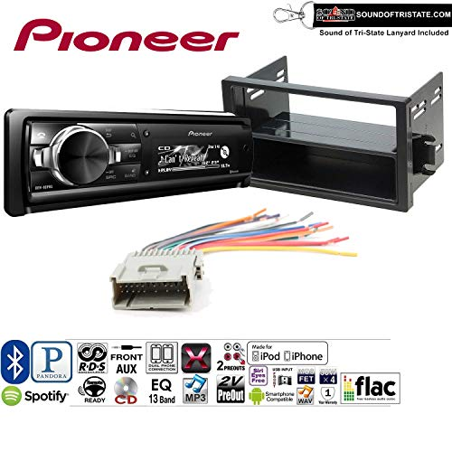 PIONEER DEH80PRS Radio Install Kit with Bluetooth, CD Player, USB/AUX Fits 2000-2003 Saturn S/L...