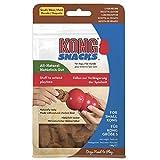 KONG - Snacks - Friandises Naturelles (Idéal à Utiliser avec Les Jouets Caoutchouc Biscuits de Foie - pour Chien Petite Taille