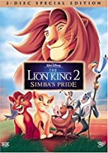 AX The Lion King 2: Simba's Pride Two-Disc.