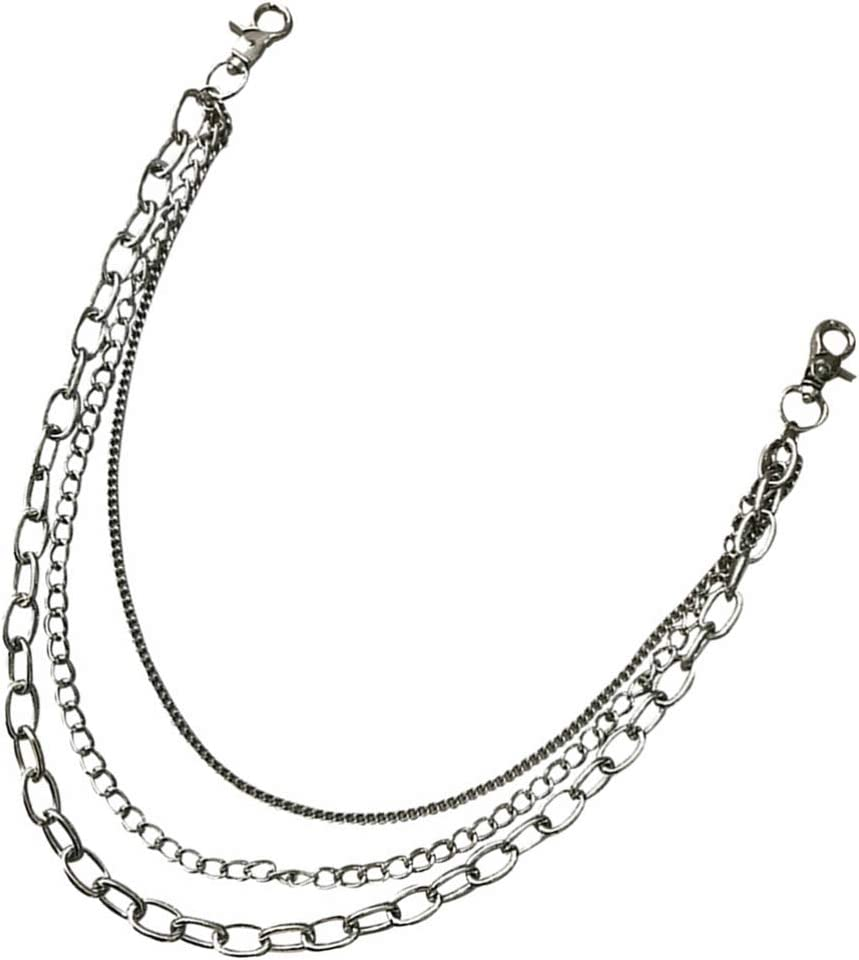 Amosfun Punk Wallet Chain Anti Layered Lost Key Metal Super-cheap Direct sale of manufacturer Pant