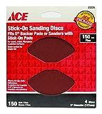 Stick On Sanding Discs 150 Gri ACE Paint Sundries 23225 082901232254
