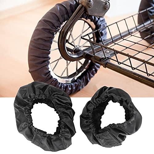 Protecteur de pneu de fauteuil roulant, housse de roue de poussette réutilisable pour les voyages en plein air pour fauteuil roulant(Small wheel set)