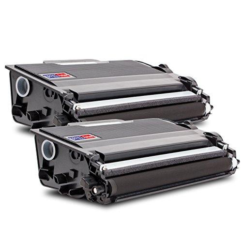 2X Compatible Tóner con Brother TN-3480 BK (2X Negro) para Impresora Brother DCP-L 5500 6600 HL-L 5000 5100 5200 6250 6300 6400 MFC-L 5700 5750 6800 6900 DN DW D DNT DWT