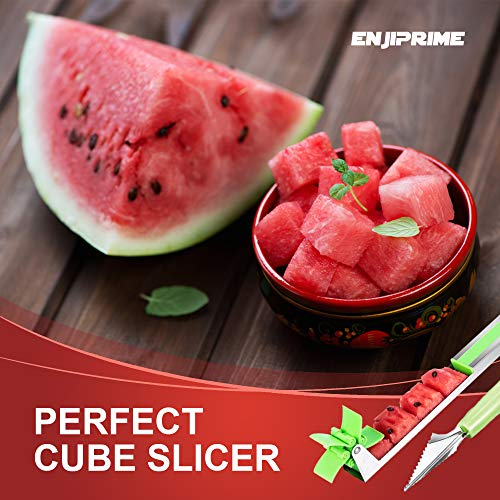 Stainless Steel Watermelon Windmill Cutter Slicer