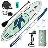 【User Scenarios】Funwater inflatable paddle boards is your first choice for water sports.Funwater inflatable paddle boards (SUP) are suitable for all skill Levels to enjoy themselves, explore, or adventure in water areas. 【Materials and Parameters】The...