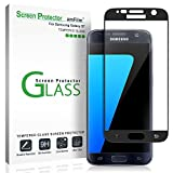 Verre Trempé Galaxy S7, amFilm Couverture Complète Protecteur D'écran pour Samsung...