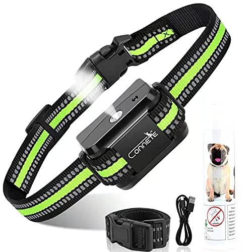 Auto Citronella Bark Collar for Dogs, [1Citronella Spray] Waterproof Spray Dog Training Collar, No Shock Humane Citronella Dog Barking Collars, Safer Rechargeable Anti Barking Control Collar