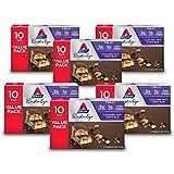 Atkins Endulge Treat Caramel Nut Chew Bar. Rich & Decadent Treat. Keto-Friendly. Value Pack (60 Bars)