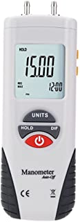 Manometer, Hti Digital Luftdruckmesser und Differenzdruckmesser HVAC Gasdruckprüfer