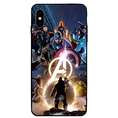 iPhone XR Case 6.1',Comics Case Cover for iPhone XR (Avengers-9)