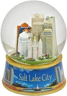 salt lake city snow globe