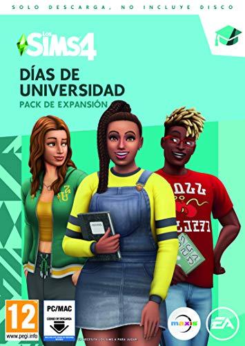Los Sims 4 - Días de Universidad (La caja contiene un código de descarga - Origin)