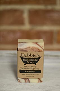 Debbie's Handmade Soap Patchouli (4 bars)